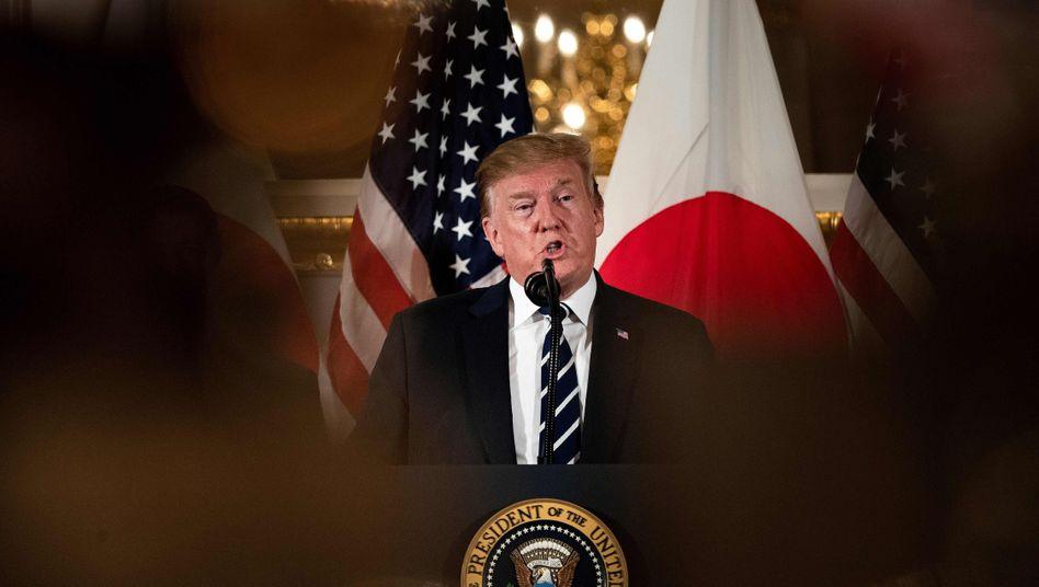 US-Präsident Donald Trump zu Besuch in Tokio