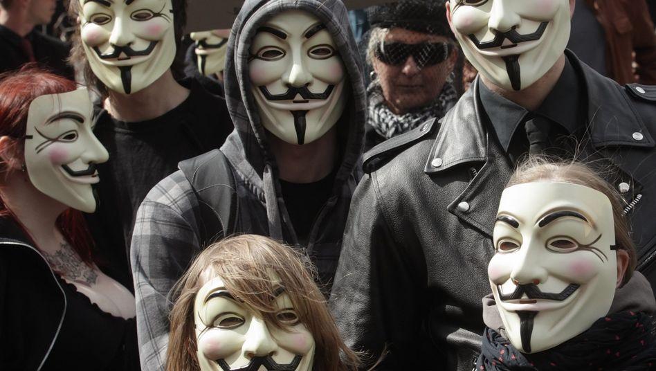 Proteste gegen die Vorratsdatenspeicherung in Wien (Archivbild): Das Überwachungsinstrument ist in vielen Ländern umstritten