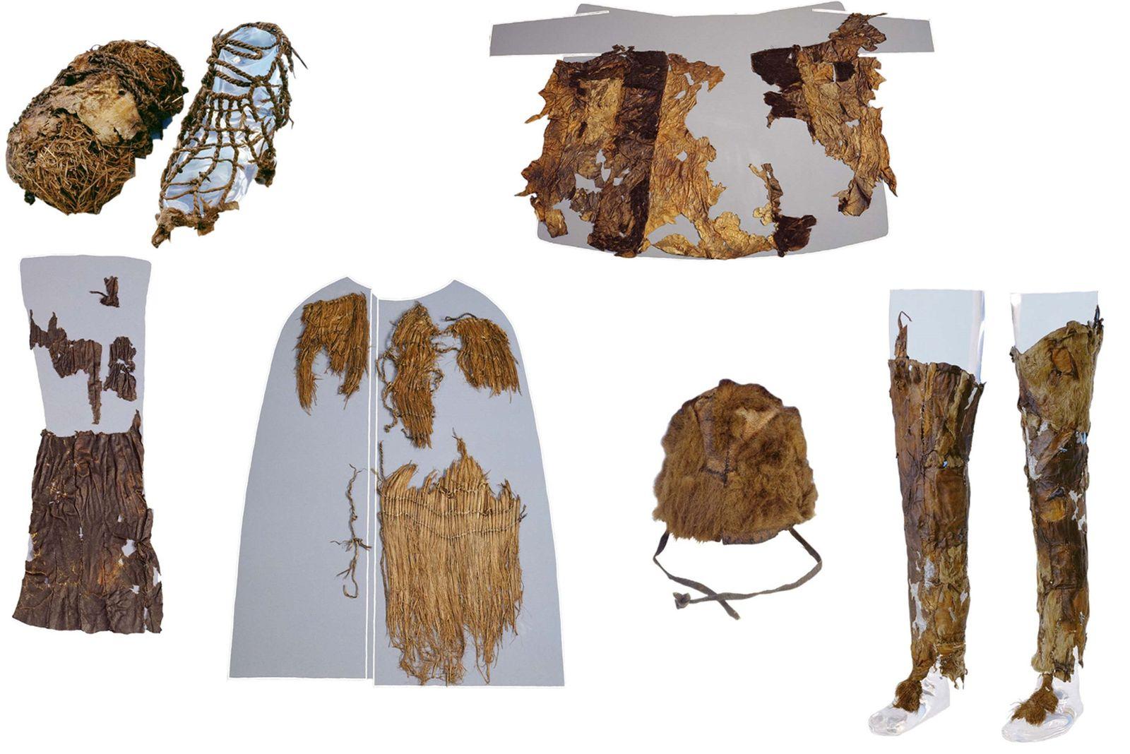 Ötzi / Kleidung