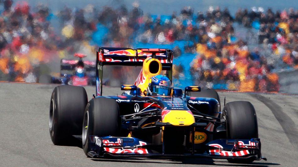 Red-Bull-Pilot Vettel: Viertes Rennen, vierte Pole Position