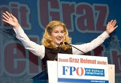 Susanne Winter, campaigning for the Graz city council, called the Prophet Muhammad a child molester.
