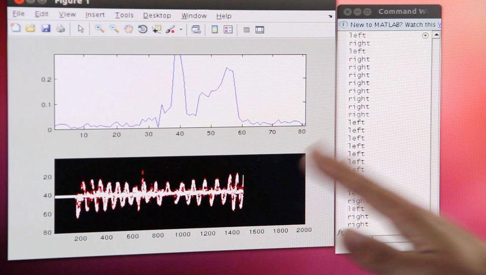 Gestensteuerung per W-Lan: Handbewegungen beeinflussen Funksignale