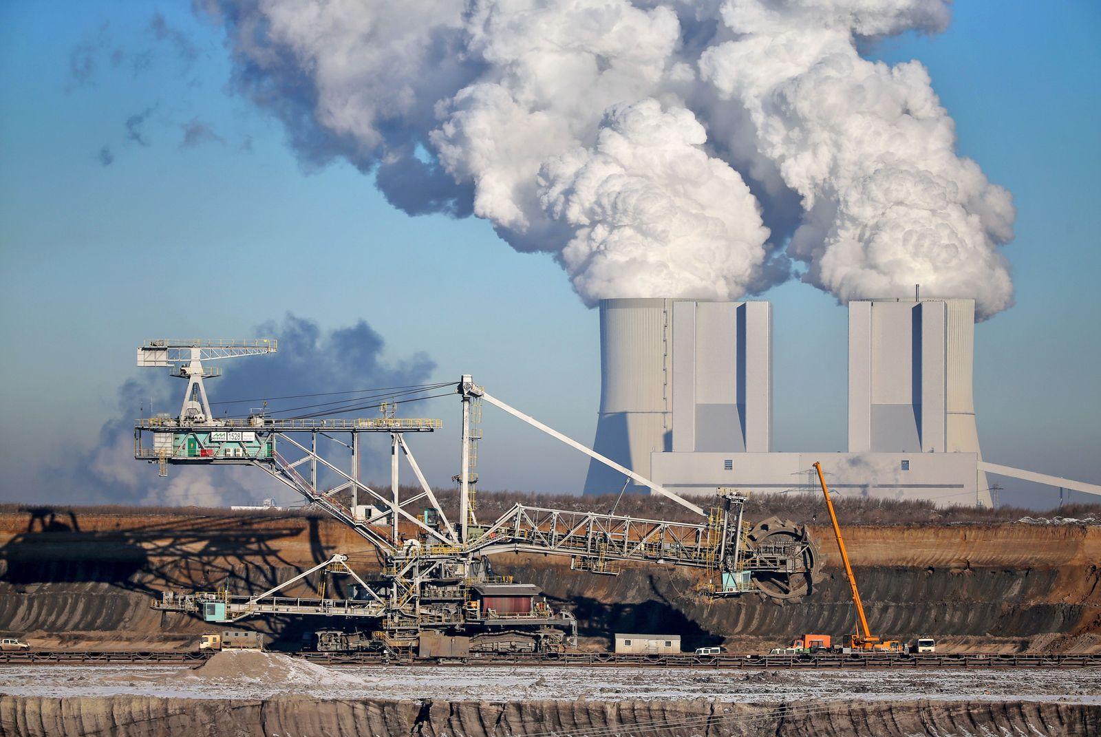 Kohlekraftwerk/ Vereinigtes Schleenhain