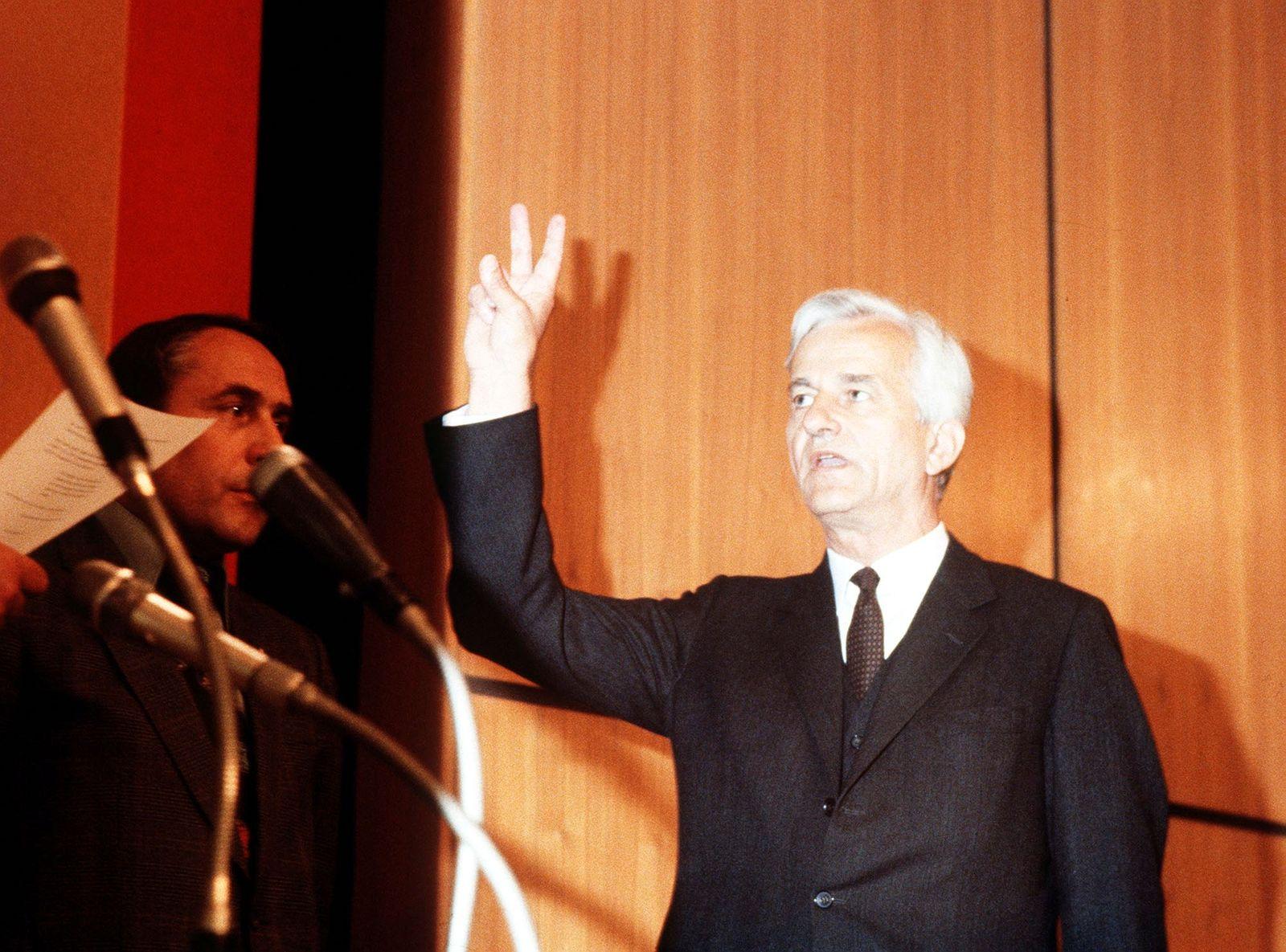 Richard von Weizsaecker, Buergermeister Berlin, Vereidigung
