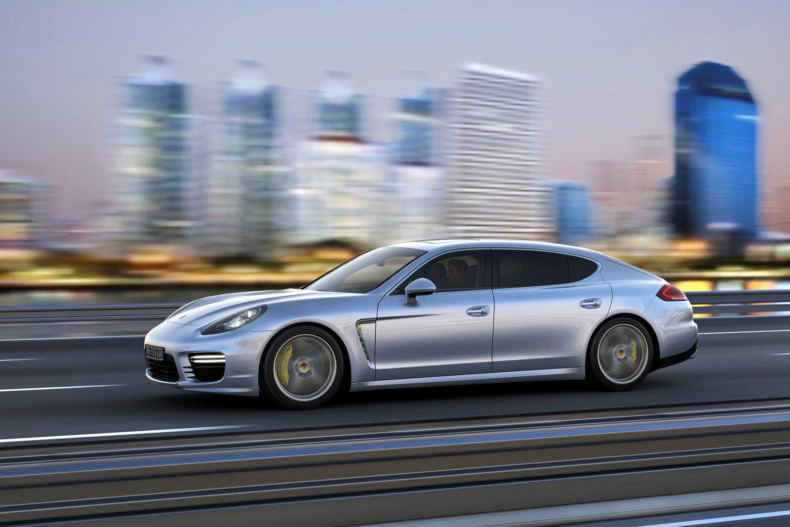 EINMALIGE VERWENDUNG Porsche Panamera
