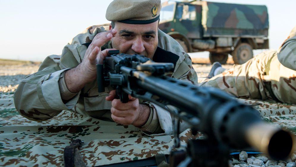 Gewehre für die Kurden: Deutsche Waffen gegen den IS