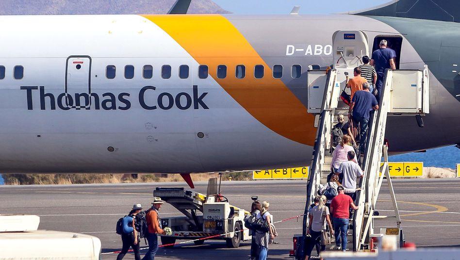 Die Versicherung Zurich zahlte für den Rücktransport der 140.000 Thomas-Cook-Urlauber