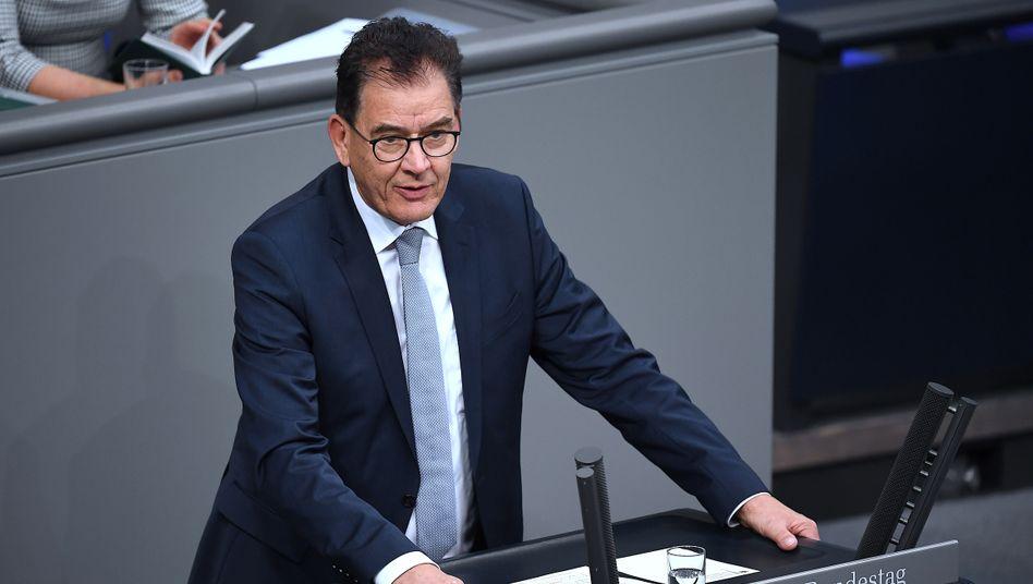 Gerd Müller (CSU), Bundesminister für wirtschaftliche Zusammenarbeit und Entwicklung