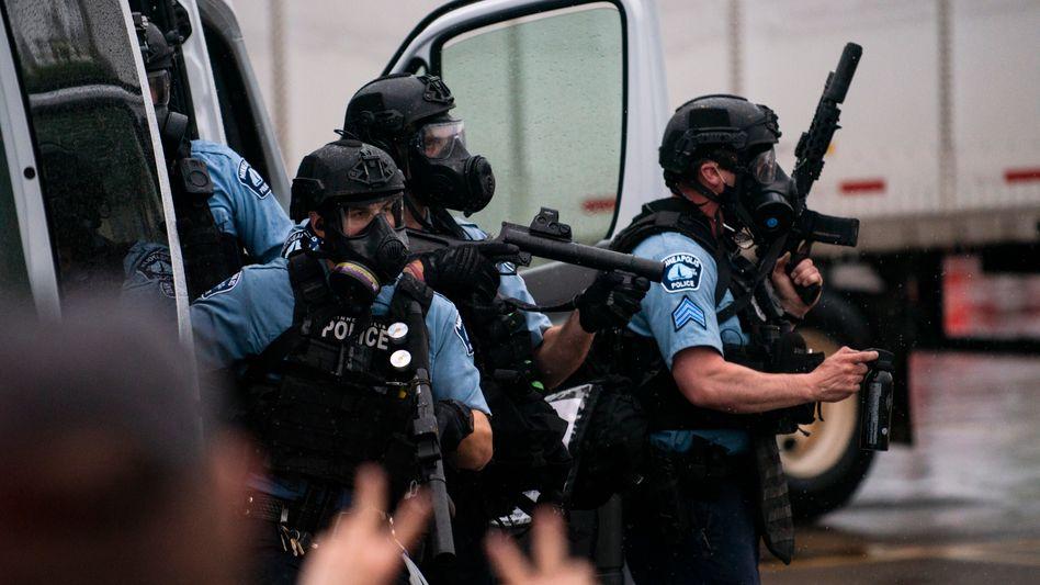 Polizeibeamte in Minneapolis: Reformieren - oder gleich ganz auflösen?