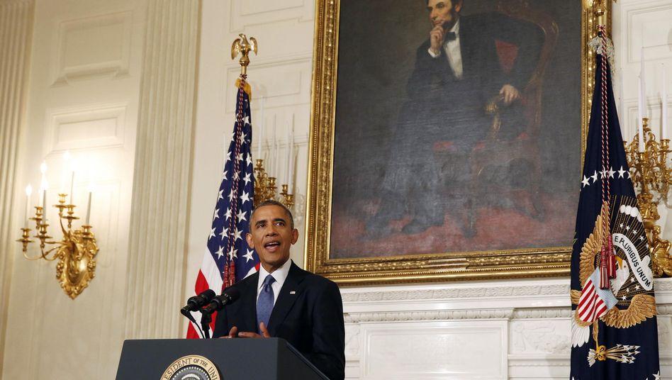 Terror im Nordirak: Obama genehmigt Luftangriffe gegen IS-Extremisten