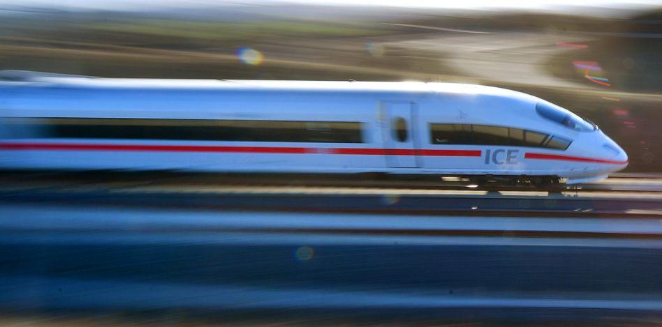 ICE-Zug bei Erfurt