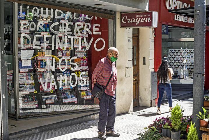 Etwa 44 Prozent der Argentinier sind arm, rund 20 Millionen Menschen
