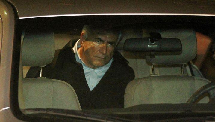 IWF-Chef Strauss-Kahn: Festnahme auf dem Flughafen