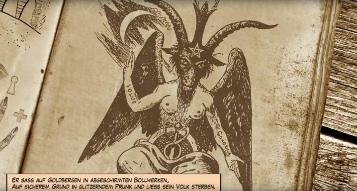"Abbildung aus Kollegah-Video ""Apokalypse"""