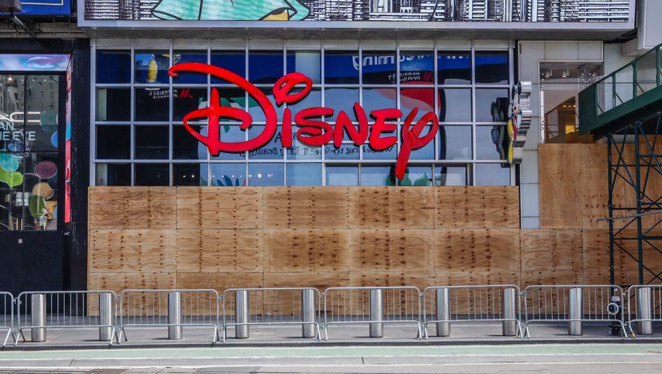 Disney-Geschäft in New York: Hollywood ohne Glanz