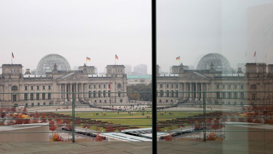 The German parliament, the Bundestag, meets in the Reichstag in Berlin.