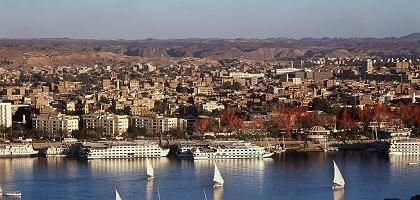 Assuan am Nil: Beliebtes Ziel für Ägypten-Touristen