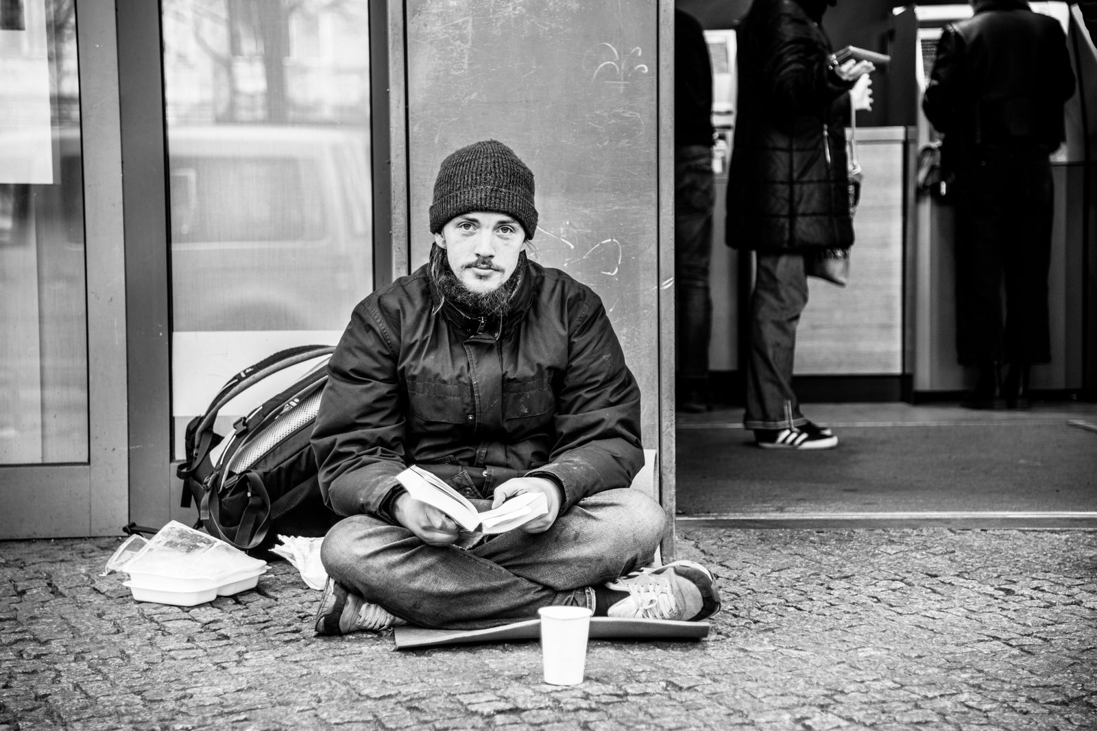 Obdachlosigkeit - Portraits © Debora Ruppert -11