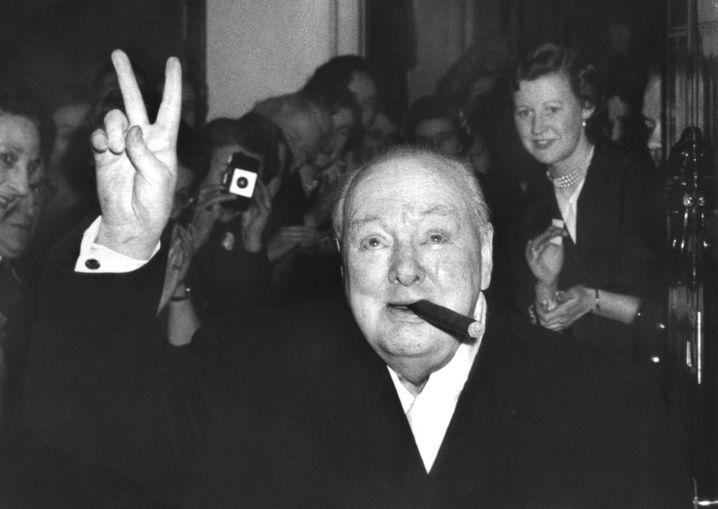 """Johnson-Vorbild Churchill: """"Wie können Sie es wagen!"""""""