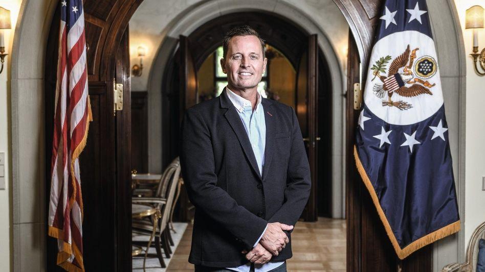 Diplomat Grenell in seiner Berliner Residenz: »Ich möchte unbedingt andere Konservative in ganz Europa stark machen«