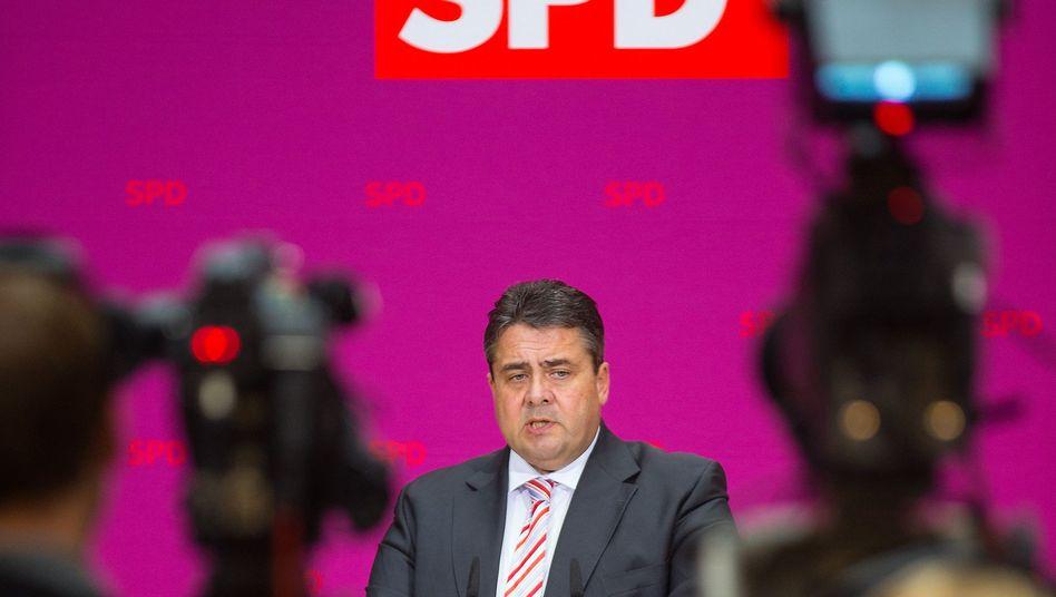 SPD-Chef Gabriel: Die Diskussion lief glatt