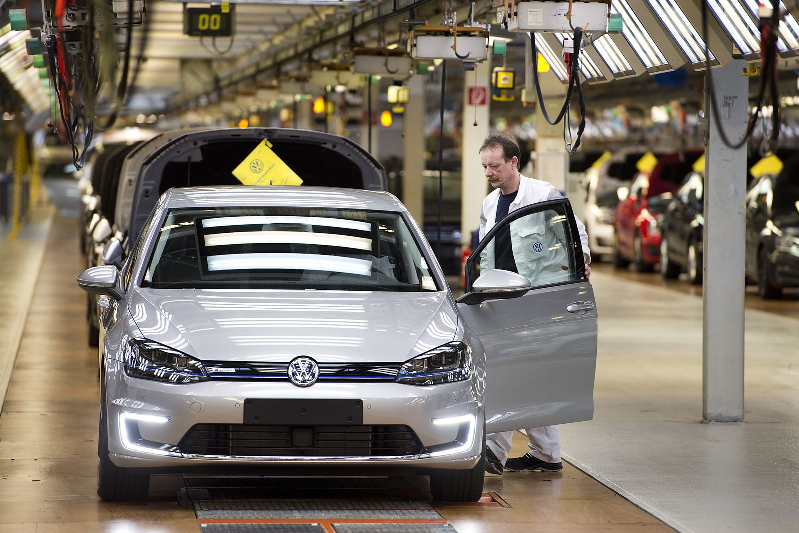 Produktionsstart e-Golf