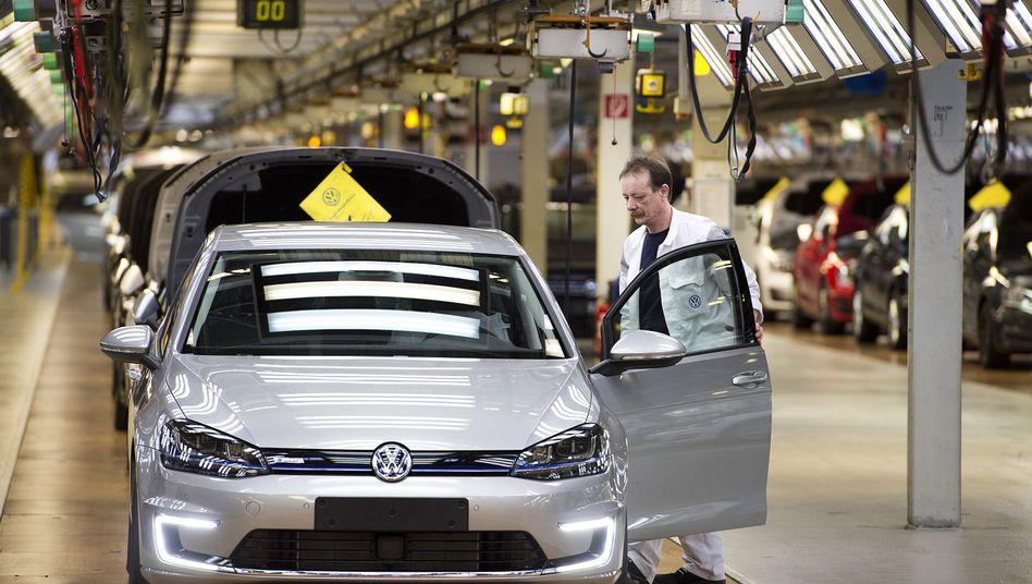 Volkswagen-Produktion: Bundesregierung will Leiharbeit schärfer regulieren