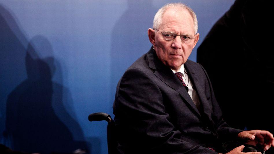 Finanzminister Schäuble: Ruf als besonders sicherer Schuldner