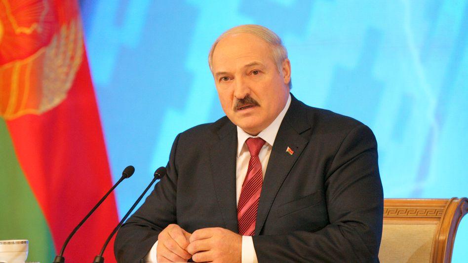 Weißrusslands Präsident Lukaschenko: Trainings der deutschen Polizei