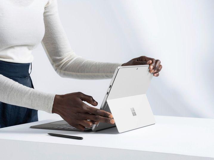 Vor allem schneller: Das neue Surface Pro 8