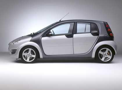 Neue Motorisierung: Auch Vierzylinder-Aggregate werden für den Smart Forfour angeboten