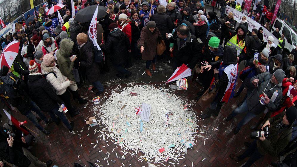 Schulreform: Polnische Lehrerproteste