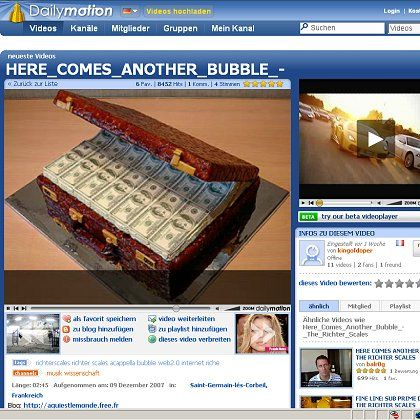 """Musikvideo """"Here Comes Another Bubble"""": Bei Dailymotion ist es noch zu sehen"""