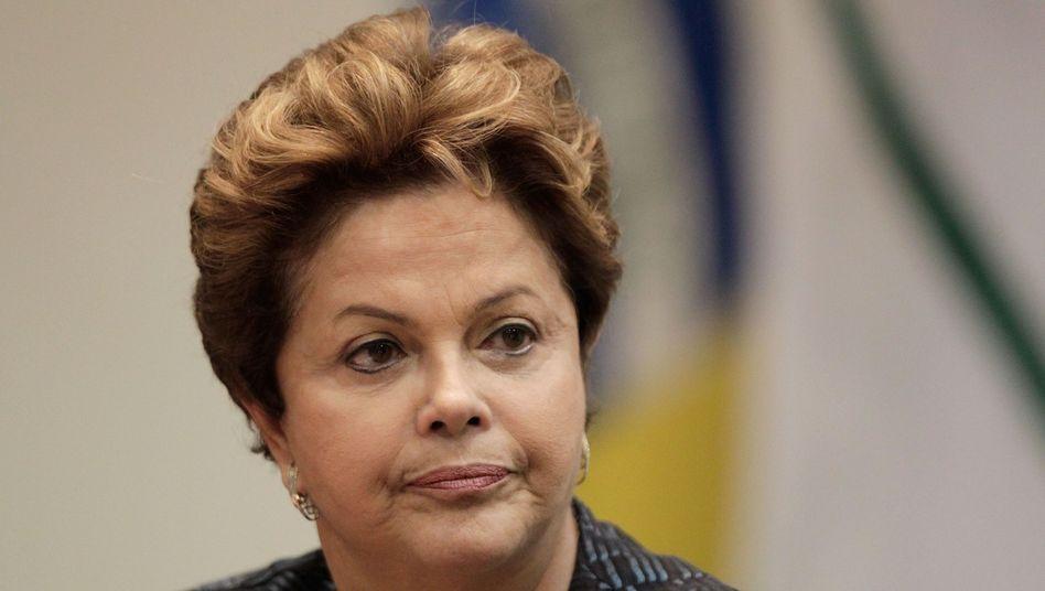 Brasiliens Präsidentin Rousseff: Im Regierungspalast isoliert