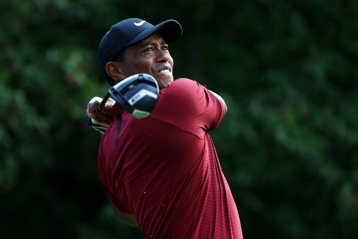 Tiger Woods in St Louis