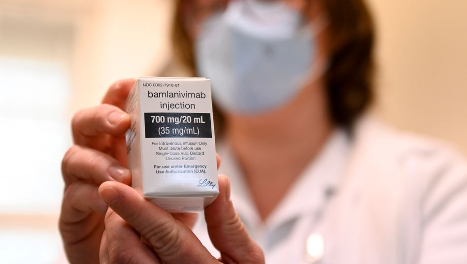 Bamlanivimab: In Deutschland ist das Mittel bisher nicht zugelassen