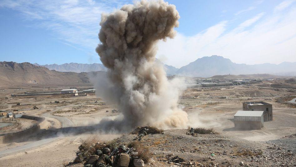 Militärübung in Afghanistan