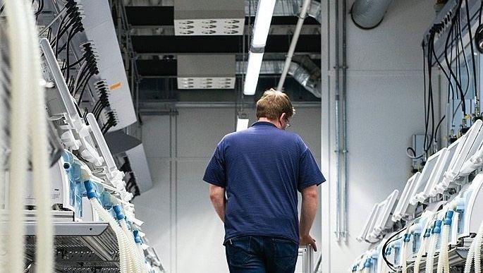 """Spezialgeräte im Dräger-Werk in Lübeck:""""Im Dienst der Freundschaft"""""""
