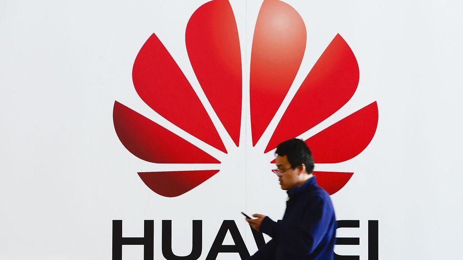 Huawei-Logo auf der Cebit 2014: Bevorzugtes Ziel der NSA