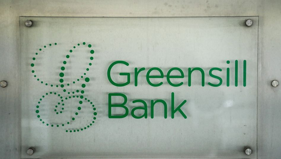 Logo der Greensill Bank
