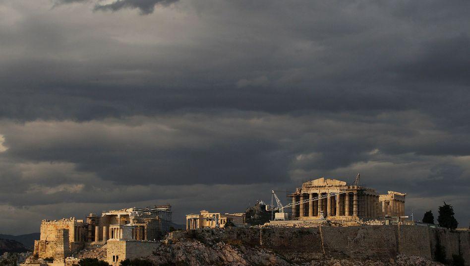 Dunkle Wolken über der Akropolis: Sechs-Punkte-Plan für mehr Wachstum