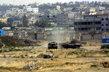 """""""Operation Regenbogen"""" im Gaza-Streifen: Größte israelische Offensive seit Jahren"""