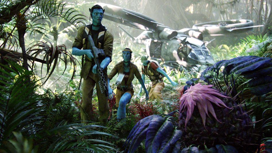 """Szene aus """"Avatar"""" von 2009"""