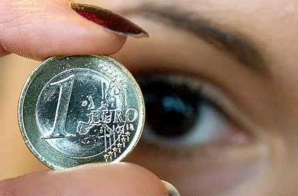 Euro-Münze: Die Nachrichtenlage in Nahost prägt auch das Geschehen an den Devisenmärkten