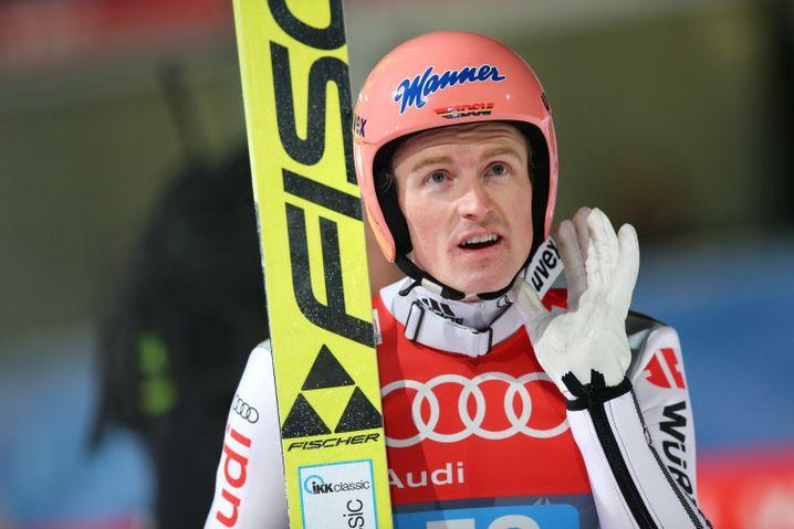 Skispringer Freund: Nur er hält mit Prevc wirklich mit