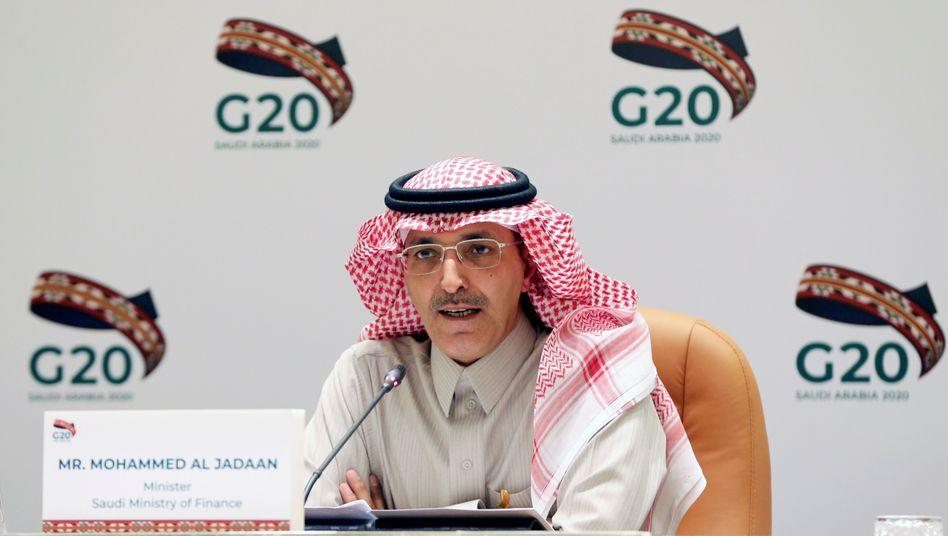Muss sparen: Saudi-Arabiens Finanzminister Mohammed Al-Jadaan