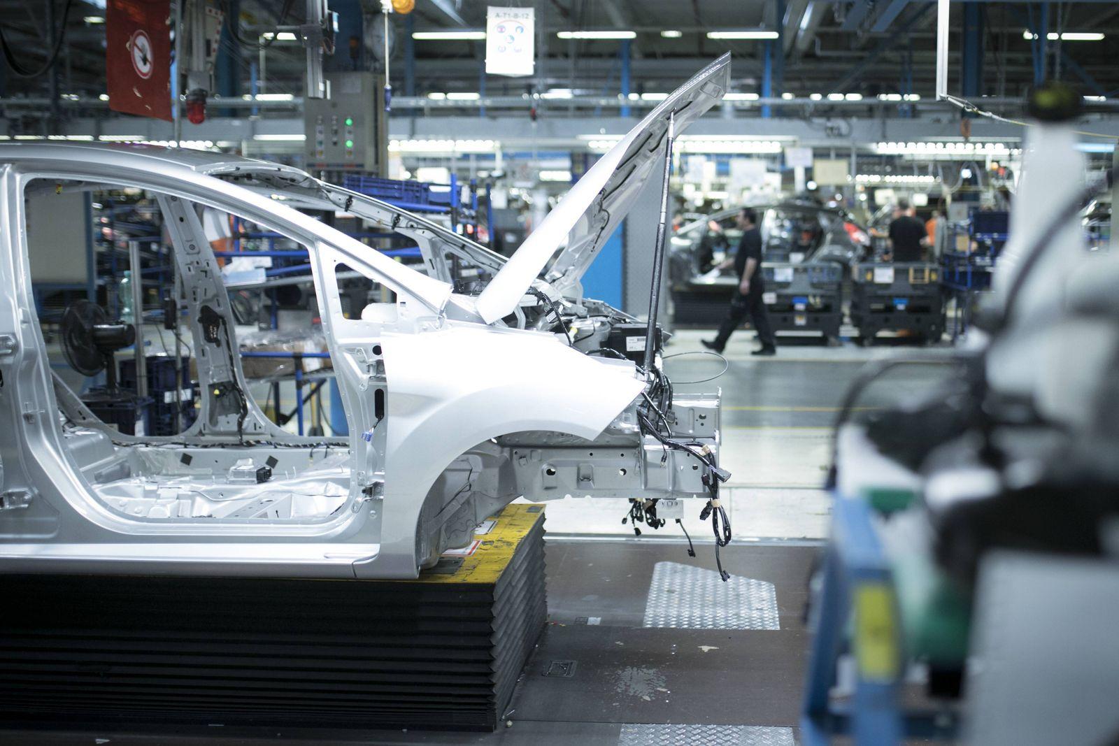 Fertigung des Ford Fiesta im Ford-Werk in Koeln-Niehl, Koeln, 15.02.2017. , available, , Koeln Deutschland PUBLICATIONx
