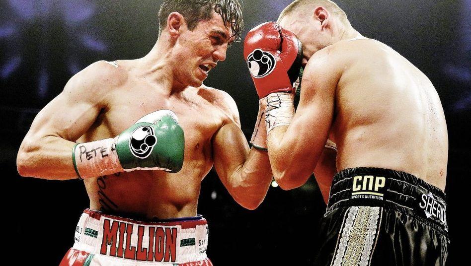 Boxer Crolla (l.) im April 2014(*): Nachts Albträume, tagsüber Existenzängste