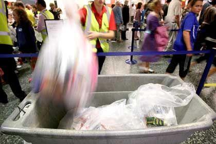 Gepäckkontrolle in London: Keine mitgebrachten Kosmetika mehr