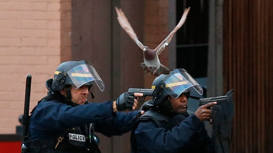 Die Meldung: Totebei Anti-Terror-Razzia in Pariser Vorort